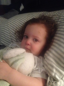 Lily. feeling poorly