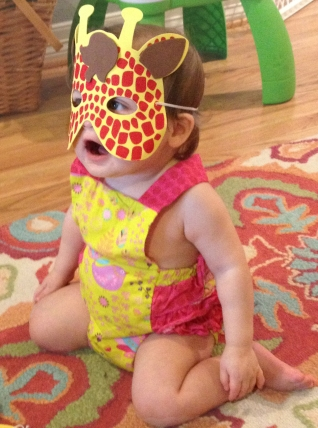 Avery (her mask phase) 15 months